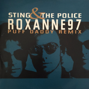 "Sting & The Police ‎- Roxanne 97 (Puff Daddy Remix) (12"") (VG/VG+)"